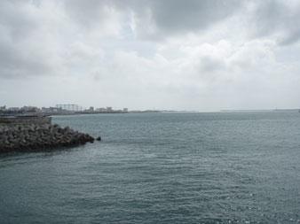 12/08/28 台風一過の沖縄本島からです!