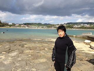 12/12/03 12月だけど寒くない!OW認定おめでとうございます! 奥武島
