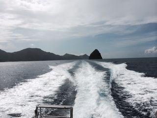 14/09/24 とっても潮が速いです。 慶良間