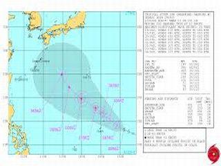 14/09/30 気になる台風18号 慶良間