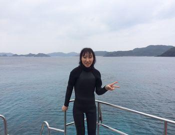 15/03/02 海洋実習は沖縄が世界に誇る海、慶良間で! 慶良間