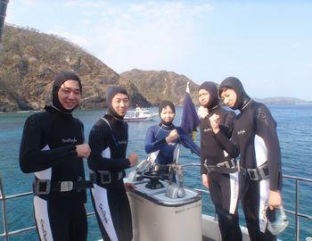15/03/03 クジラにアオウミガメ、そんな体験ダイビング 慶良間