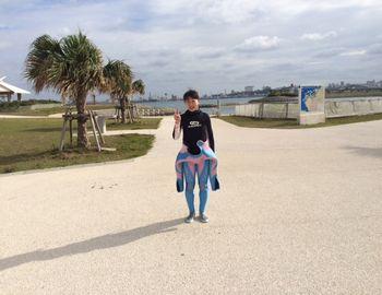 15/03/27 沖縄に来て3年になりました。 波の上