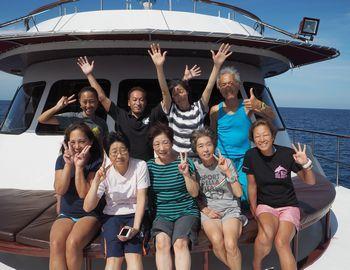 15/12/15 スミランクルーズに行ってきました、2015! 沖縄本島