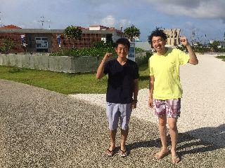 16/07/16 7月の3連休、スタート!! 波の上、真栄田