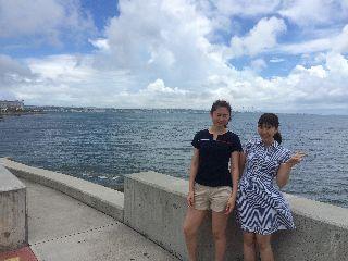 16/08/08 これが沖縄の8月です。 砂辺