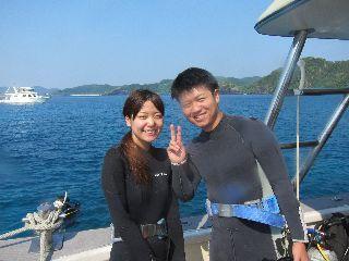 16/08/31 オールドリフトと体験ダイビング! 慶良間