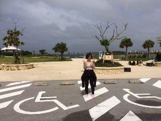 16/09/26 台風17号ですね。 那覇シーサイドパーク