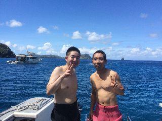 16/09/29 なぜって・・・そりゃ、あんた・・・ 万座、真栄田岬、砂辺、慶良間
