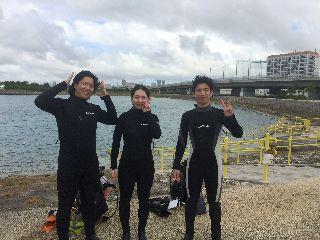 16/10/20 オープンウォーター講習と体験ダイビング!! 慶良間