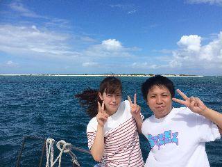 17/10/12 ずーっと東風です。 慶良間、チービシ、波の上