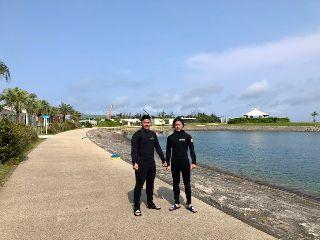 19/04/24 嵐の前の静けさ 那覇シーサイドパーク
