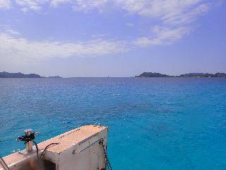 20/04/08 海がとても綺麗に見えました。 慶良間